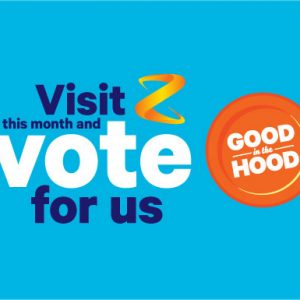 Vote for us this September to receive a share of $4,000 from Z Stations!
