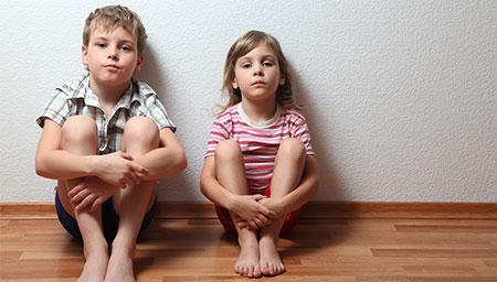 Siblings Now Happily Back in School