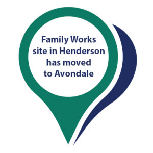 Our Family Works Waitakere site has moved to Avondale.