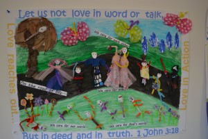 Children's Church St Andrews Matamata. Visual Art - Group Entry winner