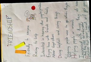 Emma Coatsworth Saint Kentigern Girls' School. Writing Year 2 - 4 winner