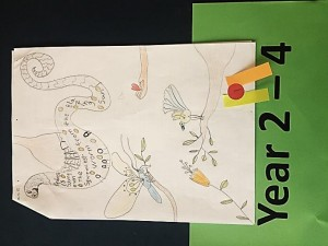 Grace Bluck Saint Kentigern Girls' School. Visual Art – Year 2 - 4 winner